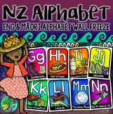 New Zealand Alphabet Frieze {English & Maori Kiwiana themed)