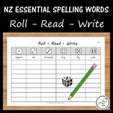 New Zealand Essential Spelling Words – 'Roll, Read, Write'