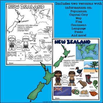 New Zealand Fact Sheet