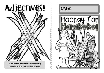 New Zealand Flax {Fun & Facts Harakeke booklet}