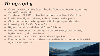 New Zealand-Geographic Overview