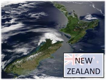 New Zealand - Geography & Wildlife
