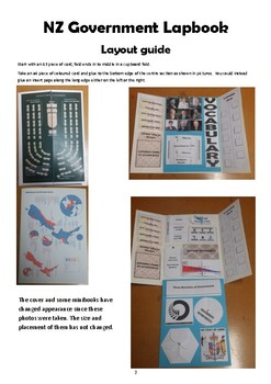 New Zealand Government Lapbook Level 5 SOS AO