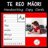 New Zealand Handwriting / Printing Cards – Te Reo Māori