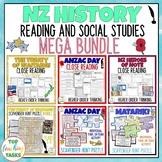 New Zealand History Reading Comprehension MEGA BUNDLE