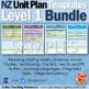 New Zealand Unit Plan Template Bundle (Level 1 NZC)