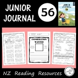 New Zealand Junior Journal 56  -  Activity Sheets