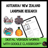 New Zealand Landmarks works with Google Classroom™