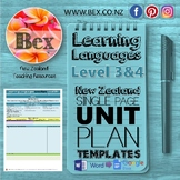 New Zealand Learning Languages Unit Plan Template (Level 3&4 NZC)