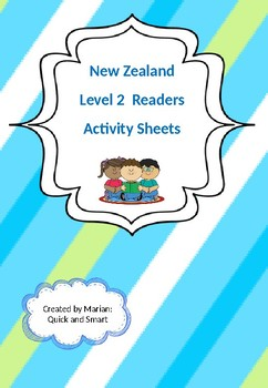 New Zealand Level 2 (Magenta) Readers Activity Sheets