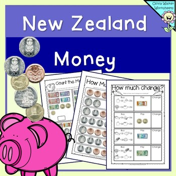 New Zealand Money Worksheets Printables Lower Primary Year One