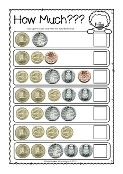 Zealand Money Worksheets / Printables / Lower Primary / Year One ...