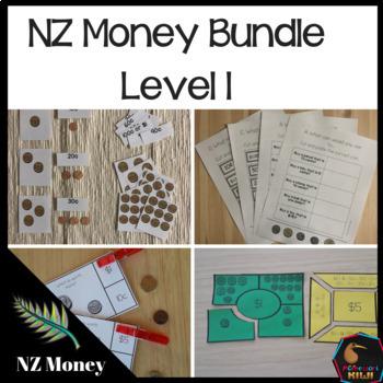 New Zealand Money Bundle Level 1