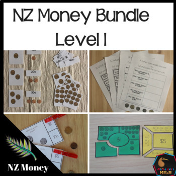 New Zealand Money Bundle Level 1