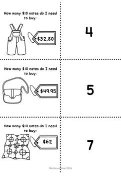 New Zealand Money - Level 3 How many ten dollar notes equal