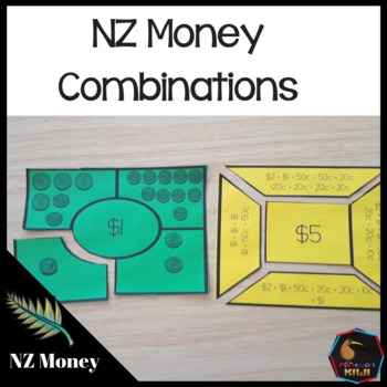 New Zealand Money, LEVEL 1 combinations of amounts $1, $2, $5