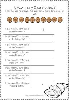New Zealand Money level 1: How many ten cent coins.....