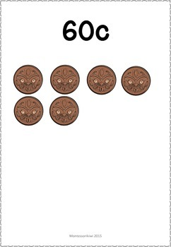 New Zealand Money level 1: skip counting to $1