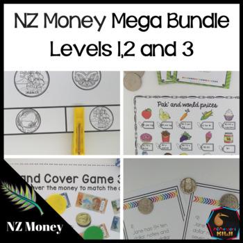 New Zealand Money mega Bundle Levels 1, 2, 3
