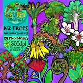 New Zealand Trees Clip Art