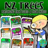New Zealand  Native Trees {Fact Files & Task Cards}