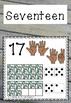 New Zealand Number Poster Set - Wooden Theme