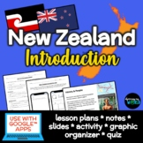 New Zealand PowerPoint Lesson & Mini-Project