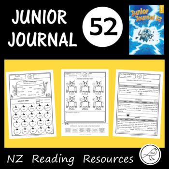 New Zealand Reading - Junior Journal 52 - Activity Worksheets