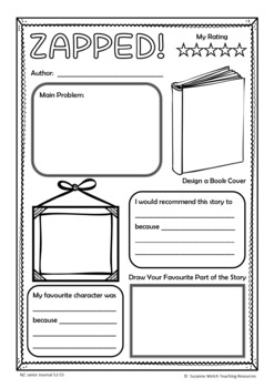 New Zealand Reading – Junior Journal 55  -  Activity Worksheets