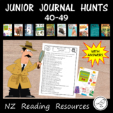 New Zealand Reading - Junior Journal Hunts - 40-49