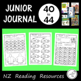 New Zealand Junior Journal Worksheets - 40-44