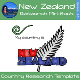 New Zealand - Research Mini Book