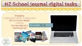 New Zealand School Journal Digital tasks with Google slides