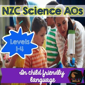 New Zealand Science Child Friendly Achievement Objectives