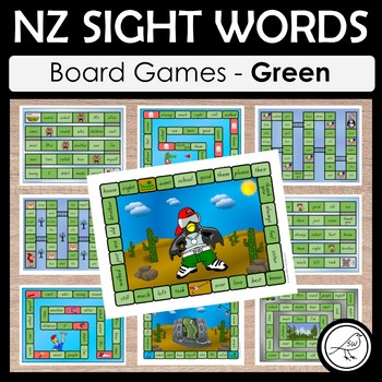 New Zealand Sight Words – Board Games BUNDLE