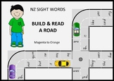 New Zealand Sight Words – Build and Read a Road
