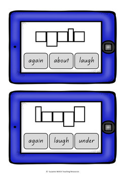 New Zealand Sight Words – 'Clip and Flip' Word Frame Cards