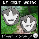 New Zealand Sight Words – Dinosaur Stomp!