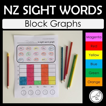 New Zealand Sight Words – Graphing