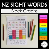 New Zealand Sight Words – Graphs