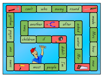 New Zealand Sight Words – Green Board Games