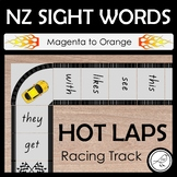 New Zealand Sight Words – 'Hot Laps' Racing Track