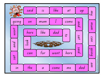 New Zealand Sight Words – Magenta Board Games