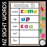New Zealand Sight Words – Make It mats