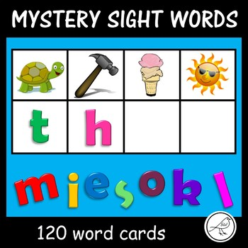 New Zealand Sight Words – Mystery Word Cards