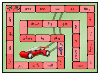 New Zealand Sight Words – Red Board Games