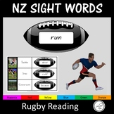 New Zealand Sight Words - Rugby
