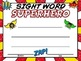 New Zealand Sight Words Certificates EDITABLE