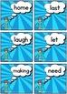 New Zealand Sight Words - SUPER Flash Cards Magenta - Green Levels
