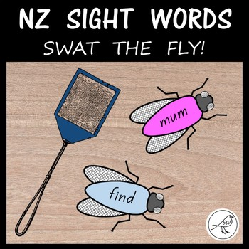 New Zealand Sight Words – Swat the Fly